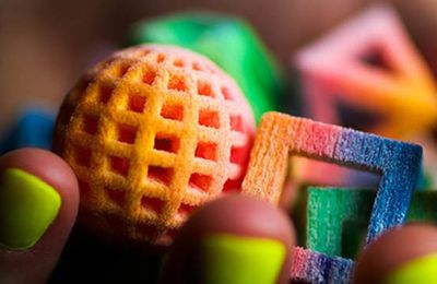 L'imprimante 3D au service de la restauration - Using 3D printing to eat healthier
