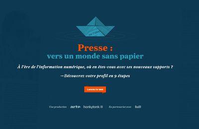 Presse : vers un monde sans papier - B'Press venez apprécier !