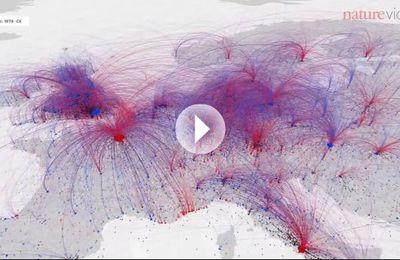 Une vidéo retrace 2600 ans d'histoire en cinq minutes