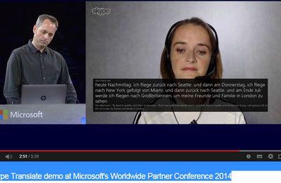 Skype Translator intégré au client Windows de Skype cet été