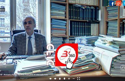 Maître Ismaïl BENAISSI - Avocat fiscalité française et internationale - Barreau de Paris - Un site B'360 à son image : une compétence à 360° !