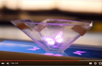 How to turn your phone into a Hologram Projector!