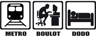 Au BOULOT-METRO-DODO a succédé le BOULOT-METRO-BOULOT-DODO-BOULOT !