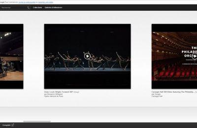 Concerts, Opéras en VIDEO 360° et Visite Virtuelle à 360° grâce au Google Cultural Institute