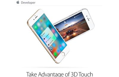 Apple rappelle aux développeurs que le 3D Touch peut intégrer leurs apps