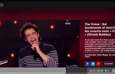 SOL rend fous les coachs de The Voice 5 ! You make me crazy ...