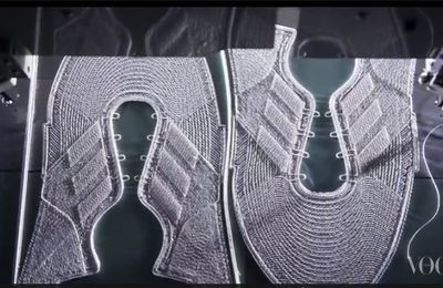 Futurecraft d'Adidas : Le tissage Tailored Fibre réalisé mécaniquement autour du pied et adapté à la morphologie et à l'usage de chacun !