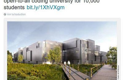 L'École 42 de Xavier Niel s'implante à Fremont dans la Silicon Valley