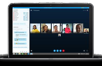 Skype se met à jour et s'enrichit de Skype Meetings