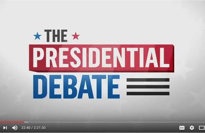 The FIRST 2016 US presidential debate :  Hillary Clinton And Donald Trump (Full Debate)
