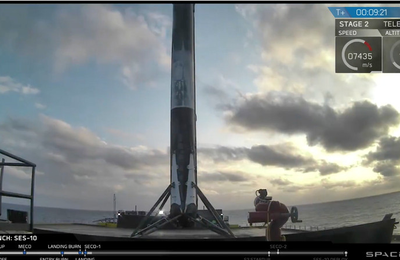 SpaceX makes aerospace history with successful launch and landing of a used rocket