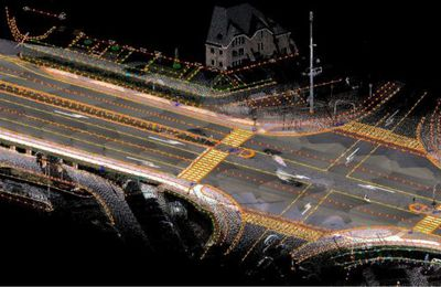 Comment une voiture autonome « voit » la route selon Civil Maps : cartes 3D, cartographie 6D, cartes semantiques ...