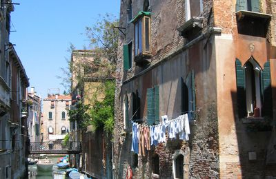 ...la dialectique de la ménagère... à Venise...
