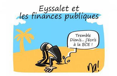 Finances publiques : Eyssalet fait l'autruche