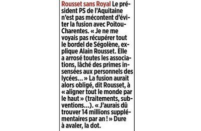 """""""nouvelle"""" Aquitaine : énième hoquet dérisoire"""