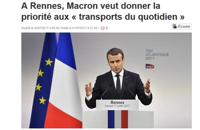 LGV & Macron. Attention : danger