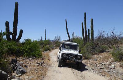 Mexique 2017  de Querétaro à la frontière Mexicali/USA