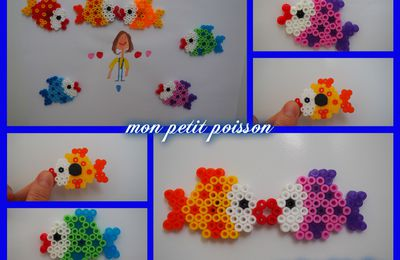 Mes petits poissons magnets