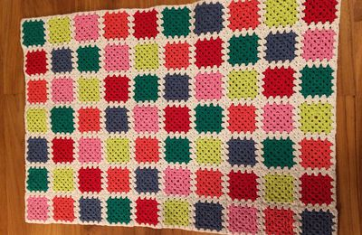 Couverture Granny square