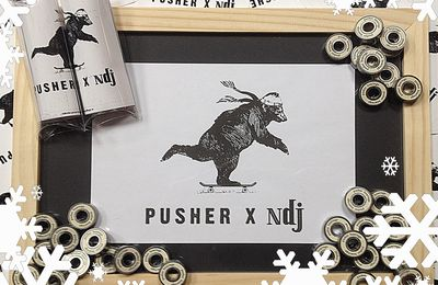 PUSHER X NDJ Skateshop Bearings
