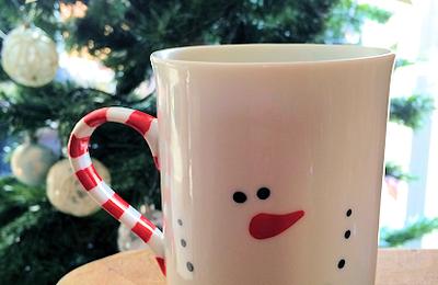 Un mug personnalisé de Noël
