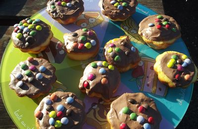 Muffins pommes & Smarties