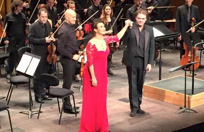 11 janvier 2016 - Concert Olga Peretyatko au Théâtre des Champs Elysées.