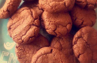 cookies au Nutella, 3 ingrédients ( avec ou sans thermomix )