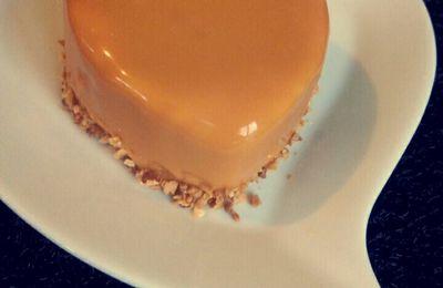Entremet poire et caramel beurre salé ( avec ou sans thermomix )