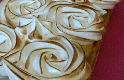 tarte au citron meringuée sans cuisson ( avec ou sans thermomix