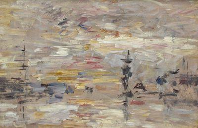 Retour fugace d'Impression, soleil levant au Havre. Il ritorno di Impression, soleil levant di Claude Monet a Le Havre