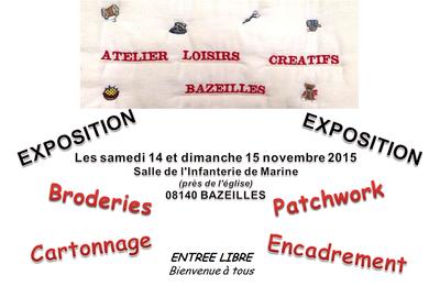 L'Atelier Loisirs Créatifs de Bazeilles (08140) prépare son exposition