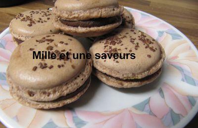 ganache chocolat pour macaron