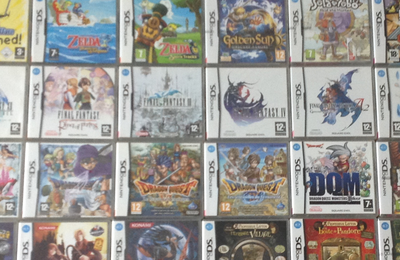 [BROCANTE] Collection de jeux DS en vente