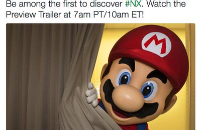 La Nintendo NX dévoilée aujourd'hui !