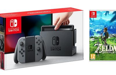 [BONNES AFFAIRES] Le pack Nintendo Switch + Zelda pour 349€ !