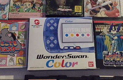 [BROCANTE] Une Wonderswan Color + 37 jeux