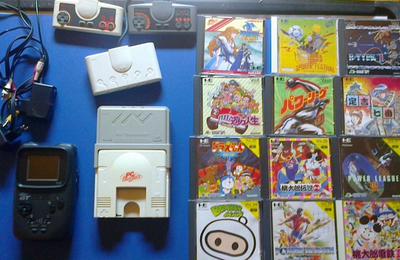 [BROCANTE] Un lot PC Engine qui déchire le slip