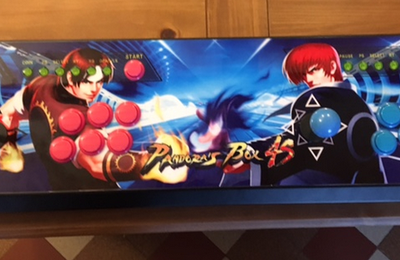 [TEST] Le Panel Arcade Plug and play 815 jeux Pandora's Box 4S +