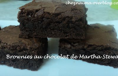 Brownies au chocolat de Martha Stewart