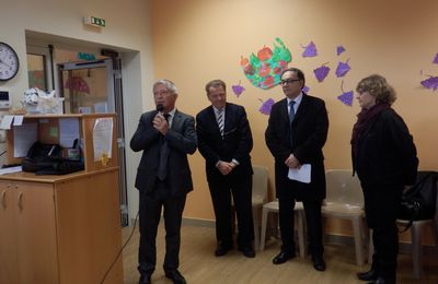 Crèche d'Anse : inauguration de l'extension