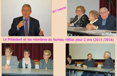 """Samedi 6 Décembre 2014 : AG de l'association """"BLV Détente"""""""