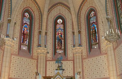 Vitraux de l'église Saint Martin