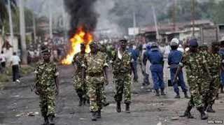 La ONU expresa su preocupación por la violencia en Burundi.