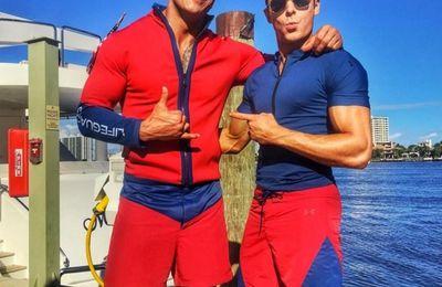 Alerte à Malibu : premières photos avec Dwayne Johnson et Zac Efron