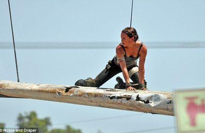 Tomb Raider : premières photos d'Alicia Vikander en Lara Croft