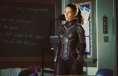 Ant-Man and The Wasp : Evangeline Lilly dévoile le costume de La Guêpe