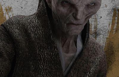 Star Wars Les Derniers Jedi : première photo de Snoke