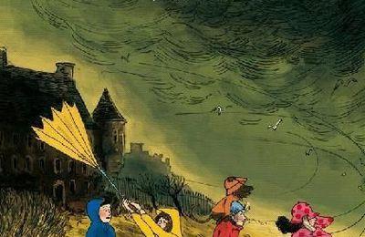 Le Club de la Pluie brave les tempêtes - Malika Ferdjoukh