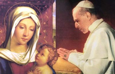 Le Pape Pie XII acteur dans un film allemand ...
